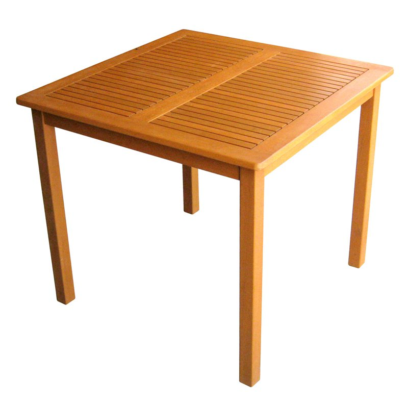 Image of: Master Wood Patio Table