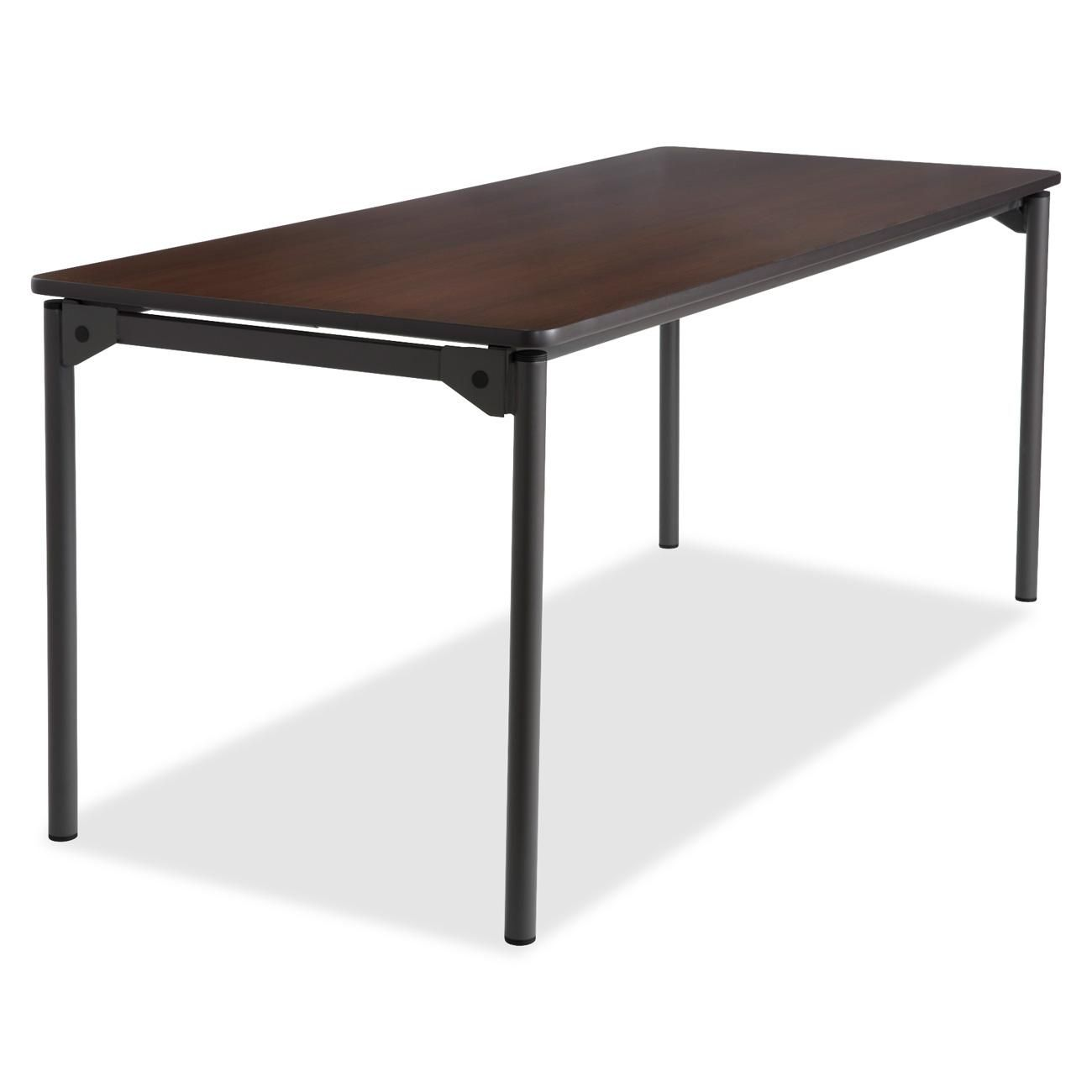 Maxx Legroom Series Wood Folding Table