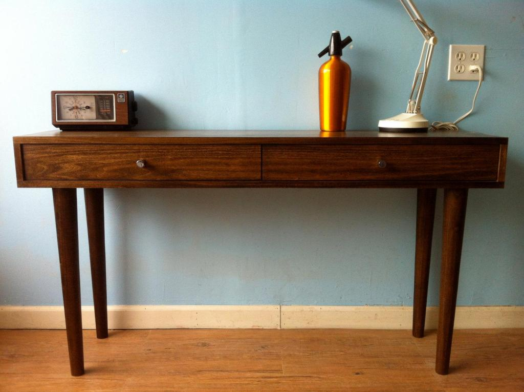 Picture of: Mid Century Modern Console Table Ideas
