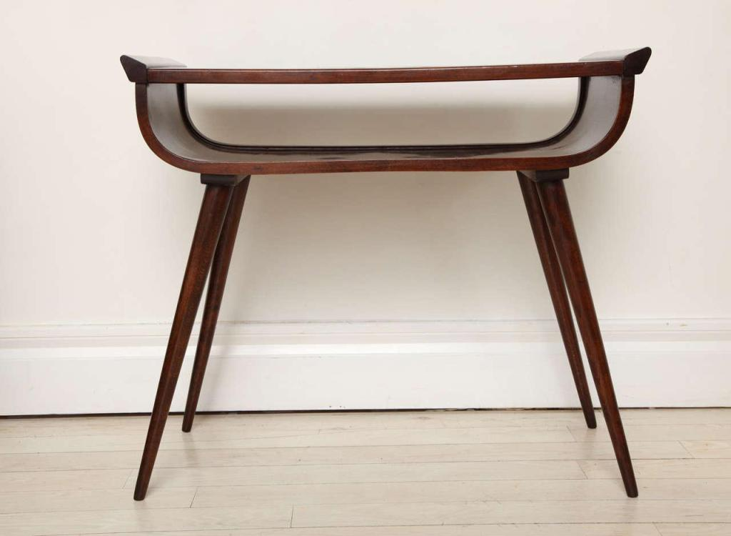 Picture of: Mid Century Modern Console Table Vintage