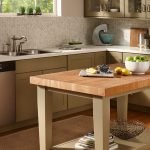 Modern Butcher Block Dining Room Table