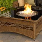 Modern Outdoor Coffee Table Fire Pit