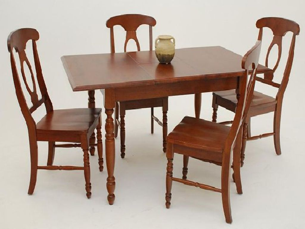 Image of: Narrow Dining Room Table And Chairs