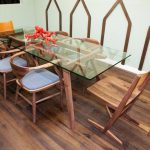 Narrow Dining Room Table Dimensions
