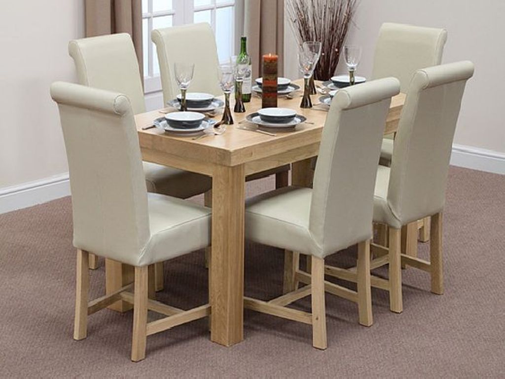 Image of: Narrow Dining Room Table Set