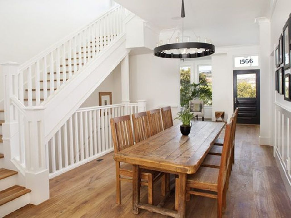 Image of: Narrow Dining Room Table