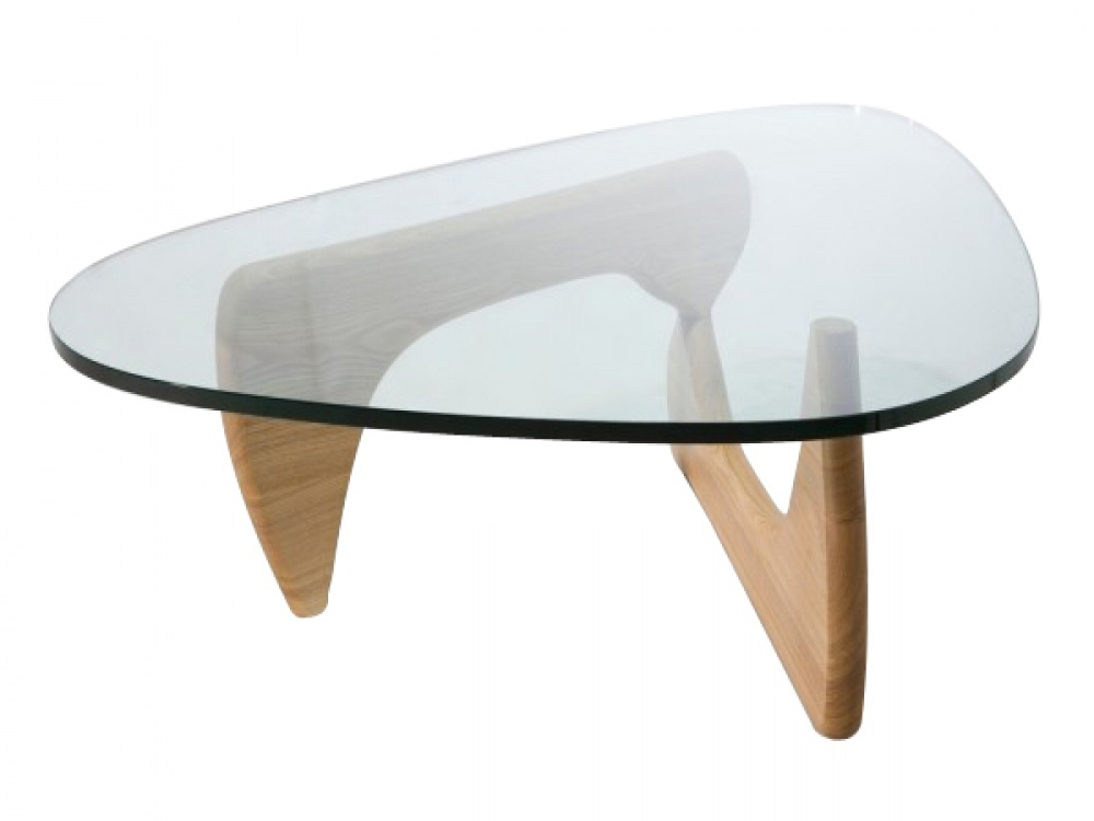 Picture of: Natural Ash clear Glass Coffee Tables