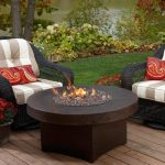 Outdoor Coffee Table Fire Pit Decorations