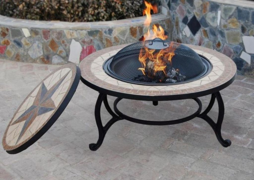Image of: Outdoor Coffee Table Fire Pit