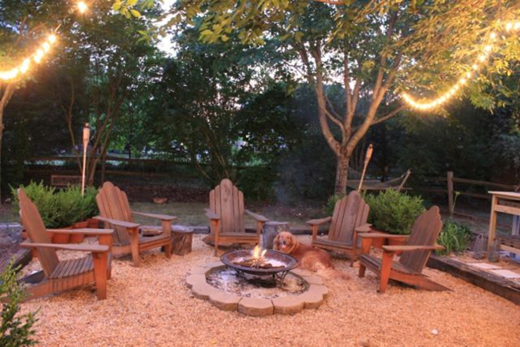 Picture of: Outdoor Fire Pit Area Ideas