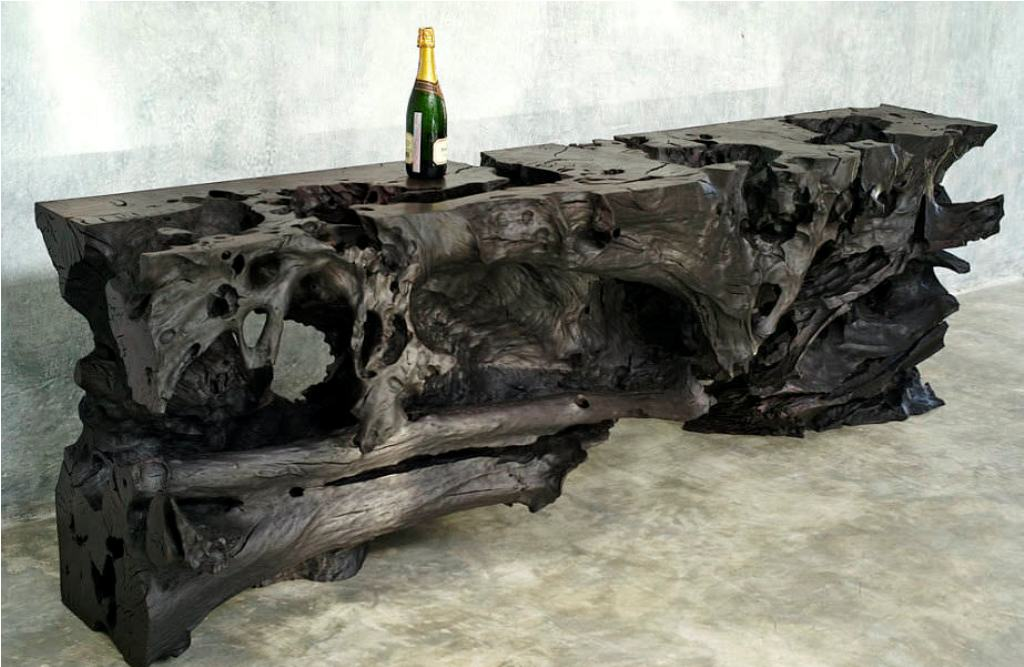 Picture of: petrified wood table for sale