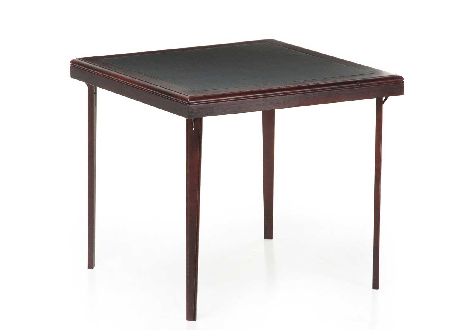 Image of: Premium Square Folding Wood Table