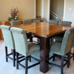 Rectangle Butcher Block Dining Room Table