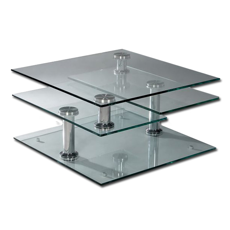 Image of: Rectangle Glass Coffee Tables