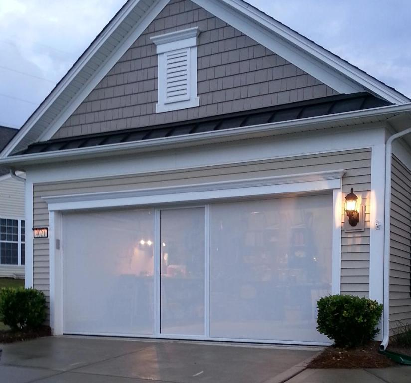 Picture of: Retractable Garage Door Screens