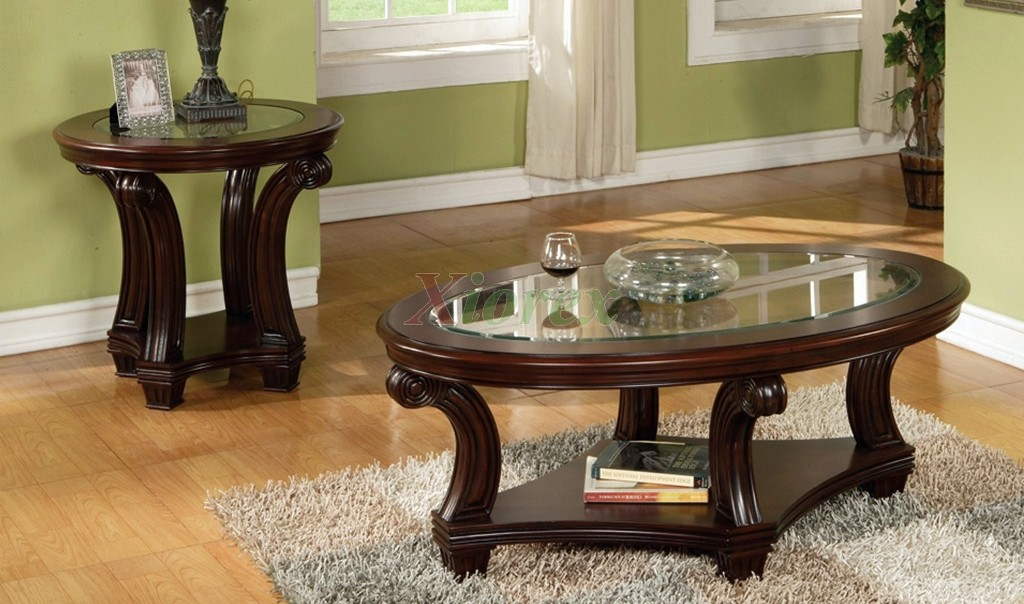 Picture of: Round Coffee Table Sets Clearance