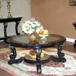 Round Coffee Table Sets With Glass Top