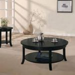 Round Coffee Table Sets And TV Stands That Match