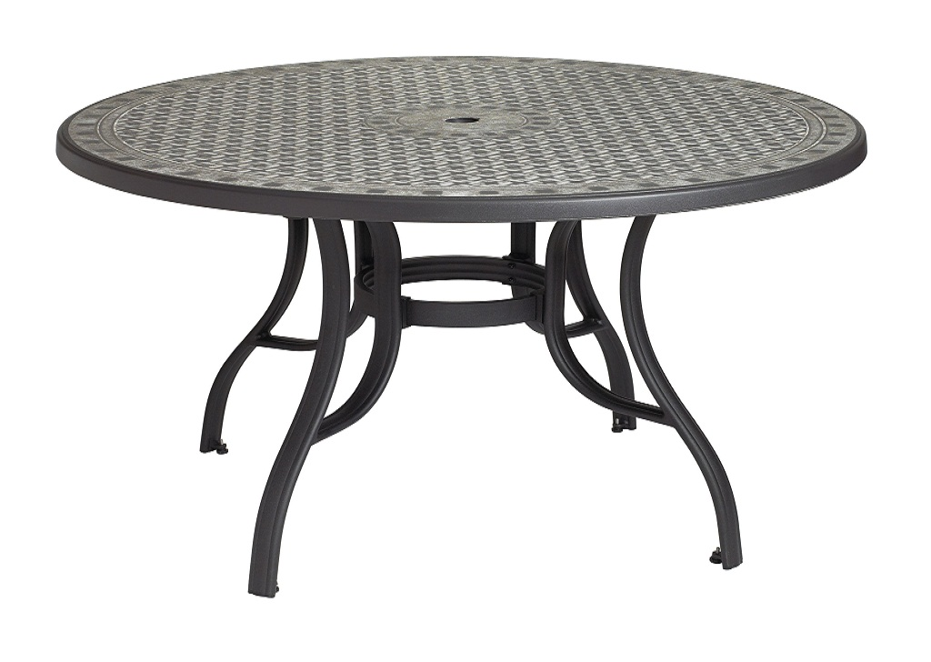 Picture of: Round Patio Table Design