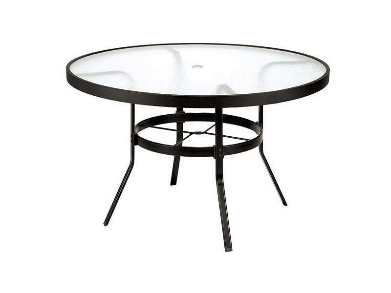 Picture of: Round Patio Table Ideas
