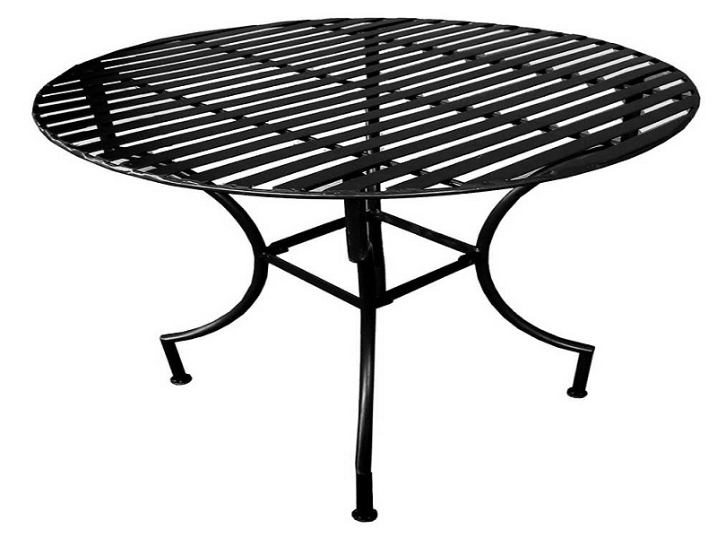Image of: Round Patio Table Style