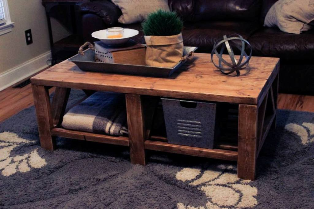 Picture of: Rustic Coffee Table Decor