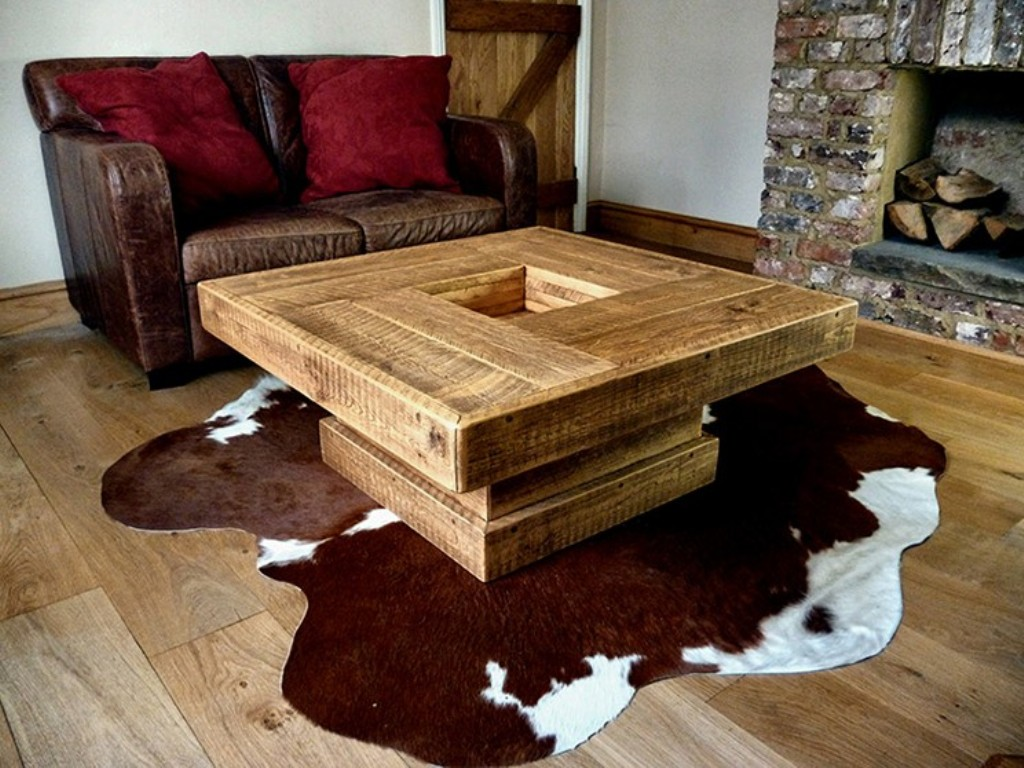 Picture of: Rustic Coffee Table Ideas