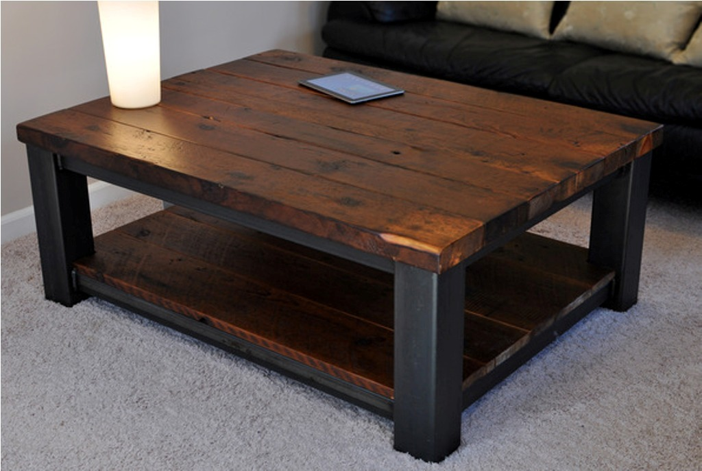 Picture of: Rustic Coffee Table Legs