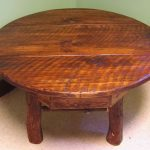 Rustic Coffee Table Round