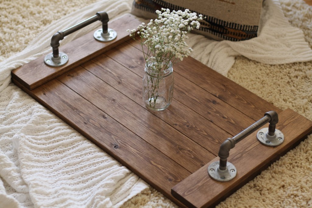 Picture of: Rustic Coffee Table Tray