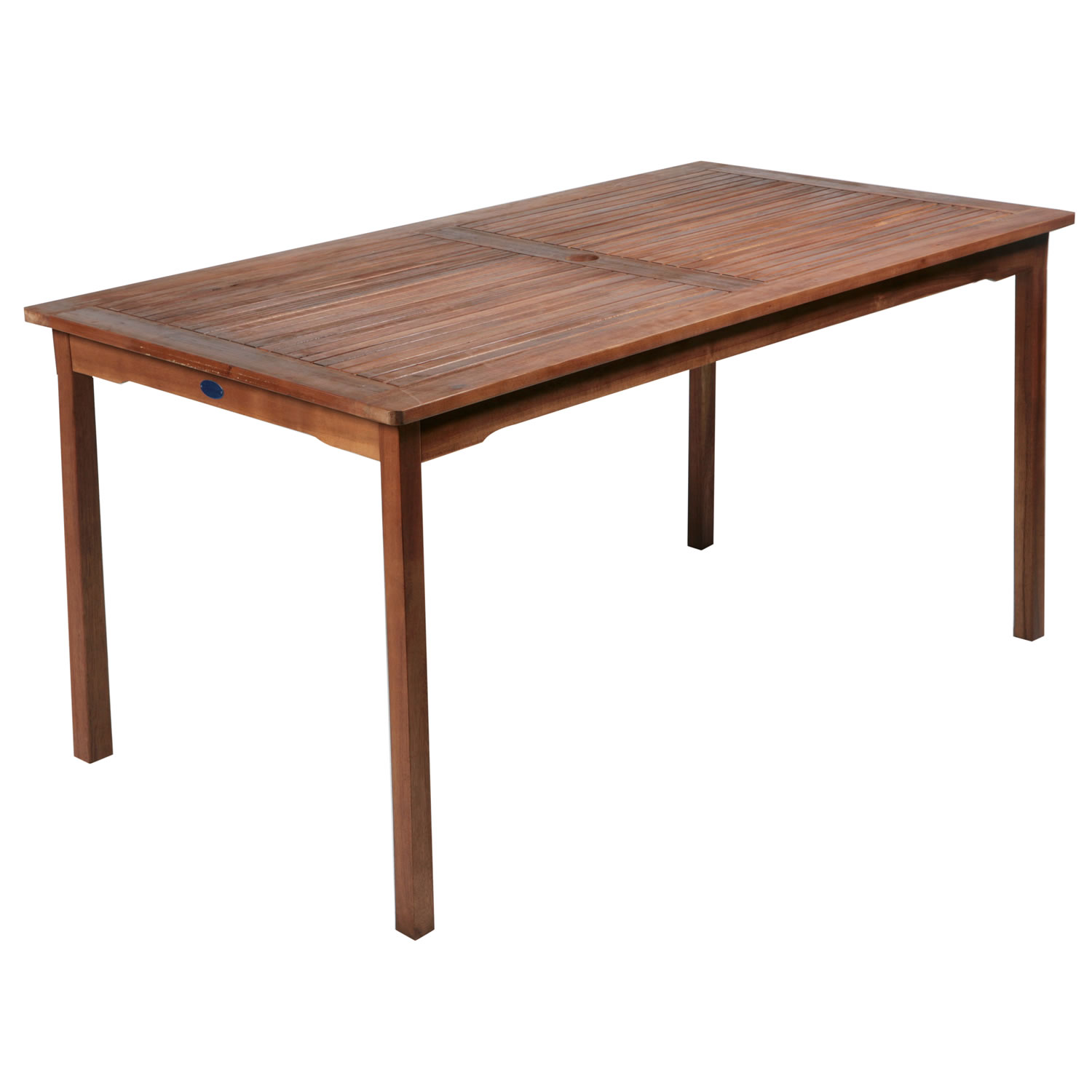 Image of: Simple Wood Patio Table
