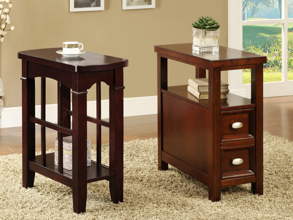 Image of: Skinny End Tables by Sauder Furniture