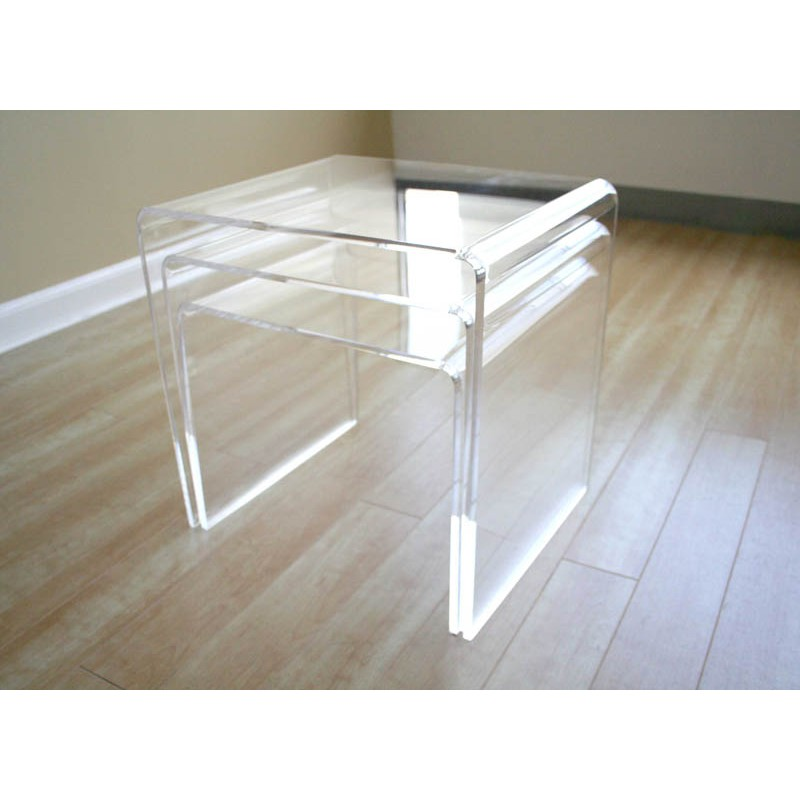 Image of: small nesting coffee tables