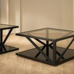 Square Coffee Tables With Glass