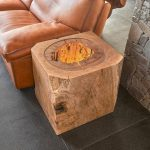 Stump End Tables And Coffee Tables