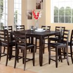 The Dark Wood Dining Table