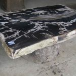 Thomasville Petrified Wood Table