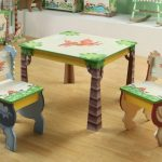 Toddler Table And Chairs Wood Booster Seat