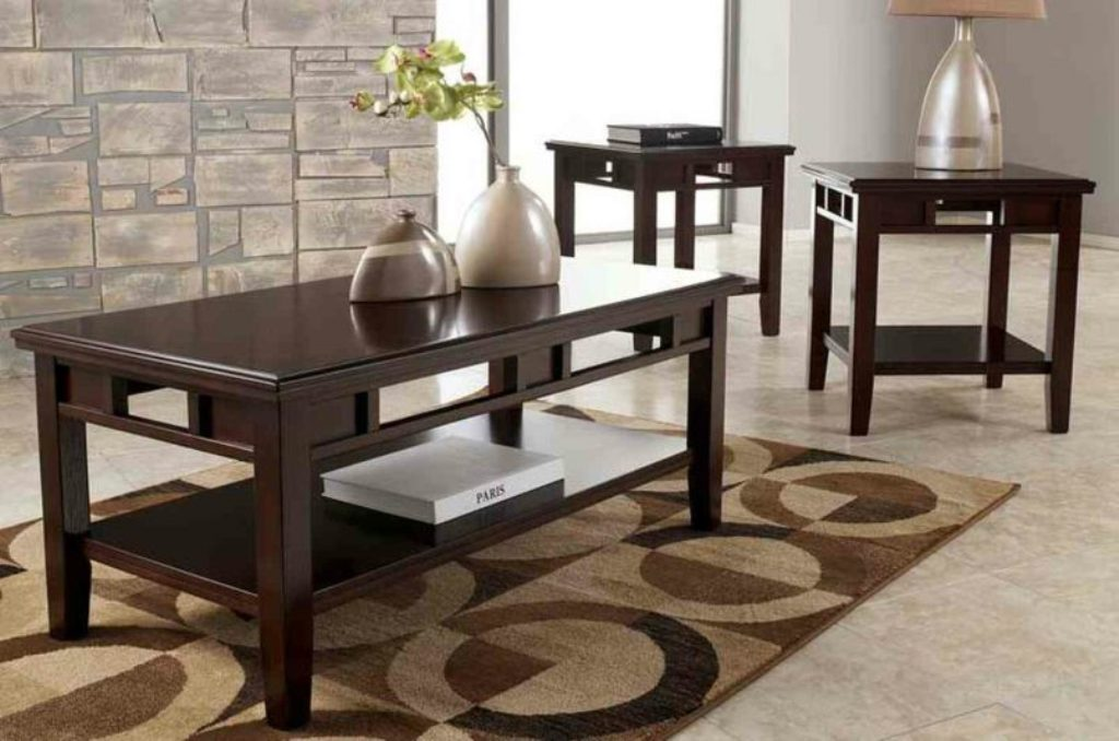 Image of: used cherry wood end tables