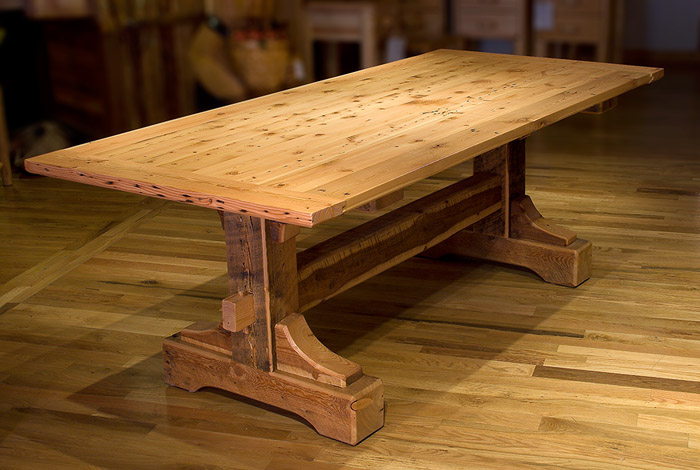 Image of: Wood Patio Table Image
