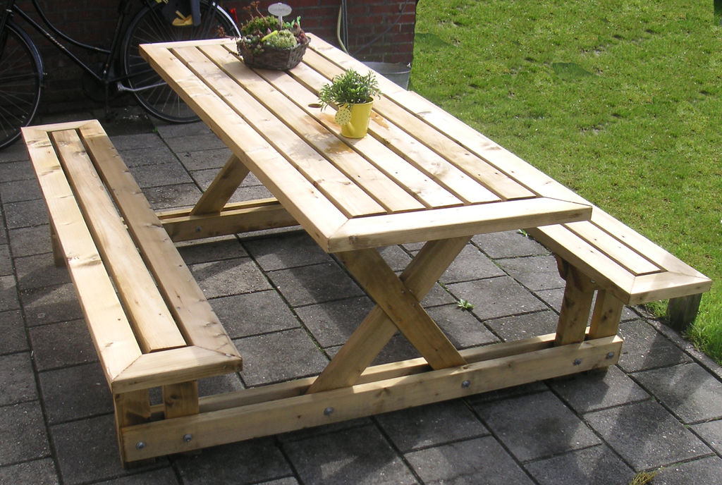 Picture of: Wood Picnic Table Plans