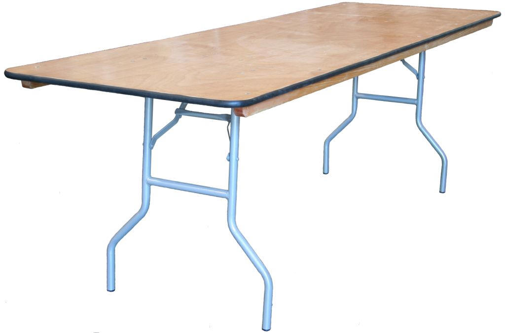 Wooden Folding Tables For Commercial Applications