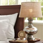 Charming Mercury Glass Table Lamp Rs Floral Design