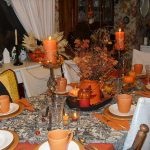Fall Thanksgiving Table Decorations