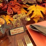 How To Thanksgiving Table Decorations