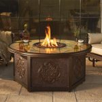 Ideas Glass Fire Pit Table