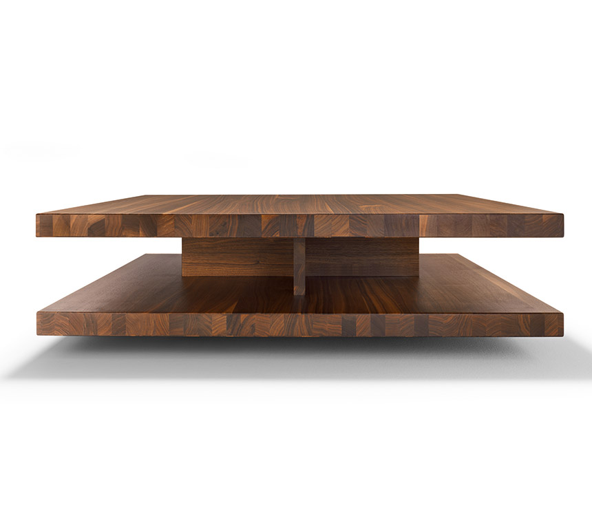Image of: luxury solid wood coffee table