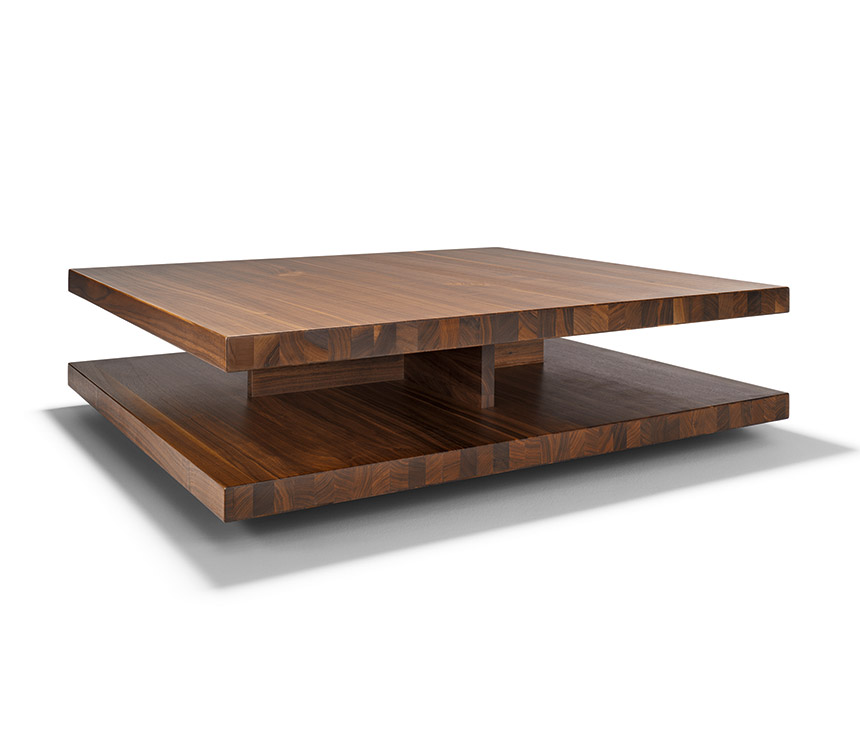 Image of: modern solid wood coffee table