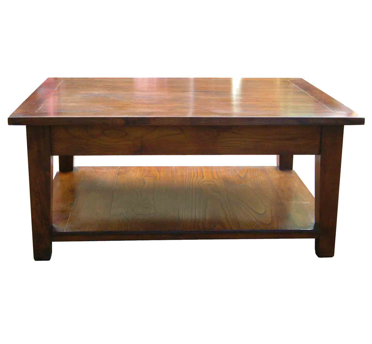 southwold solid cherry wood coffee table
