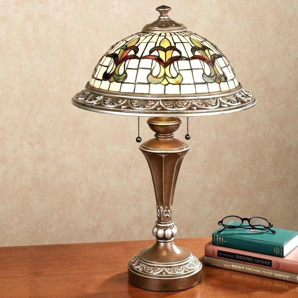 Image of: Stained Glass Lamp Shades For Table Lamps Best Patterns Lam